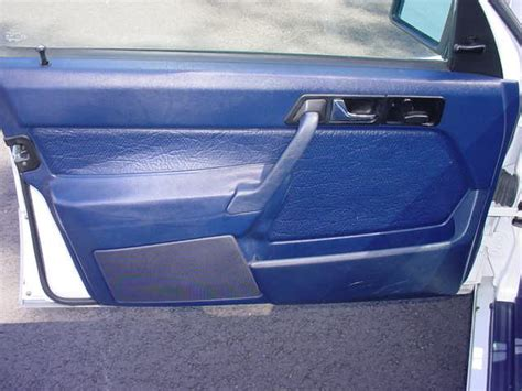 Interior Door Panel Repair Mercedes 190e Door Panel