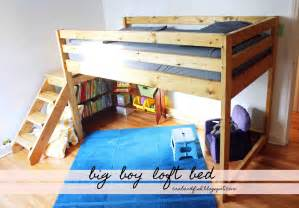 loft bed plans with stairs bed plans diy amp blueprints
