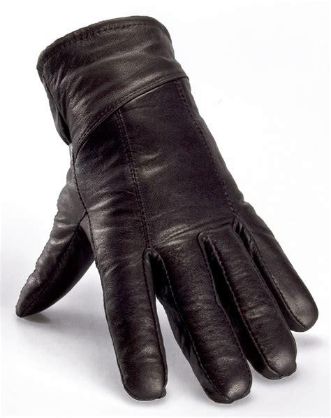 leather gloves nordvek mens sheepskin lined black real leather gloves genuine 302 100 ebay