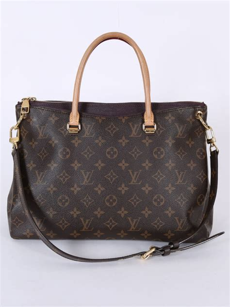 louis vuitton pallas monogram canvas quetsche luxury bags