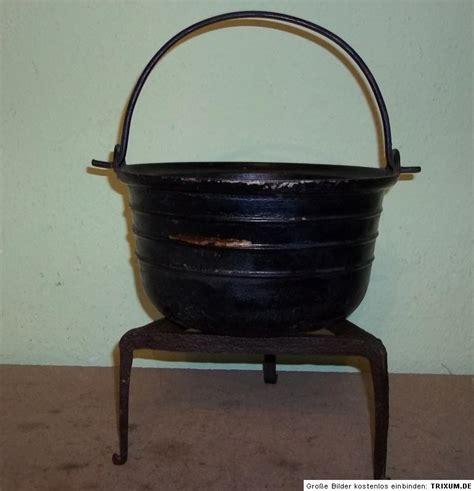 kochkessel f r feuerstelle alter 4l kochkessel kessel gusseisen mit dreibein