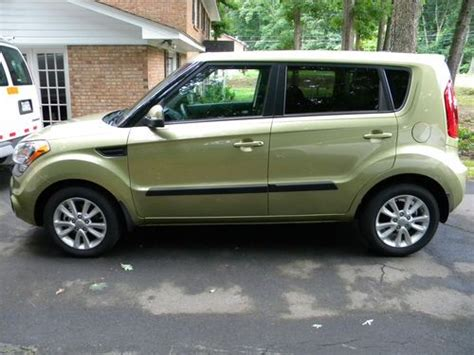 Kia Soul Green Sell Used Green 2012 Kia Soul Plus With Automatic