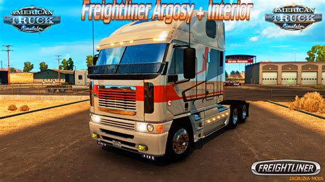 freightliner used trucks freightliner argosy interior v3 0 for ats 187 download