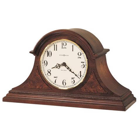 Accent Cabinets by Howard Miller Tambour Mantel Clock Fleetwood 630122