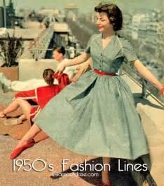 1950s fashion line