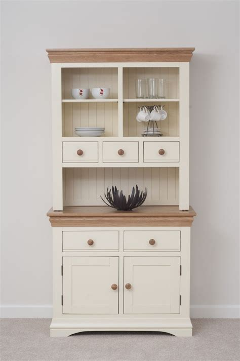 kitchen dresser ideas country cottage painted funiture cabinet cream welsh