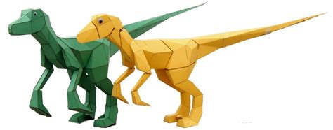 How To Make An Origami Velociraptor - the 15ft origami dinosaur with googly seeker of the