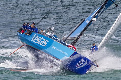 volvo ocean race  sets sail  october