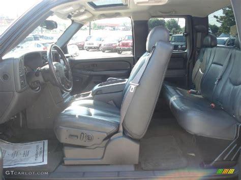charcoal interior 2006 chevrolet silverado 1500