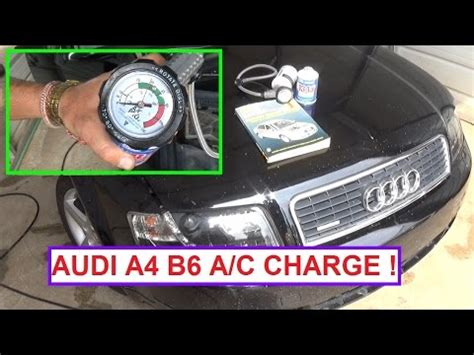 self service recharging the ac system 134a freon on the audi a4 auto repair series youtube self service recharging the ac system 134a freon on the doovi