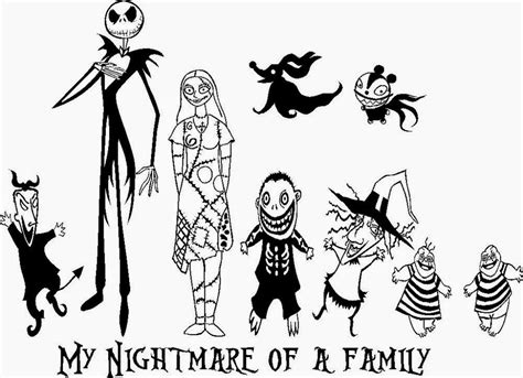 Nightmare Before Characters Coloring Pages 22 Free Disney Printable Color Pages For Kids by Nightmare Before Characters Coloring Pages