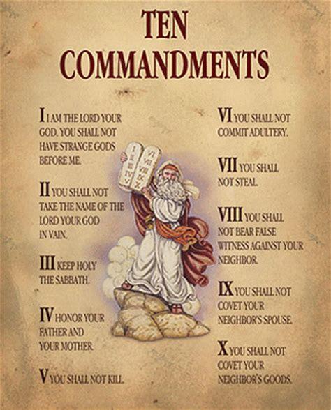 printable version of catholic ten commandments 10 commandments for kids new calendar template site