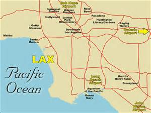Map Of Los Angeles Airports by Airport Information For Greater Los Angeles