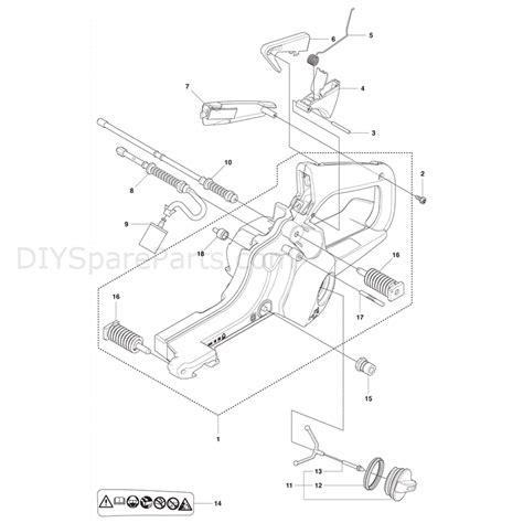 husqvarna 435 parts diagram husqvarna 435 chainsaw 2011 parts diagram fuel tank