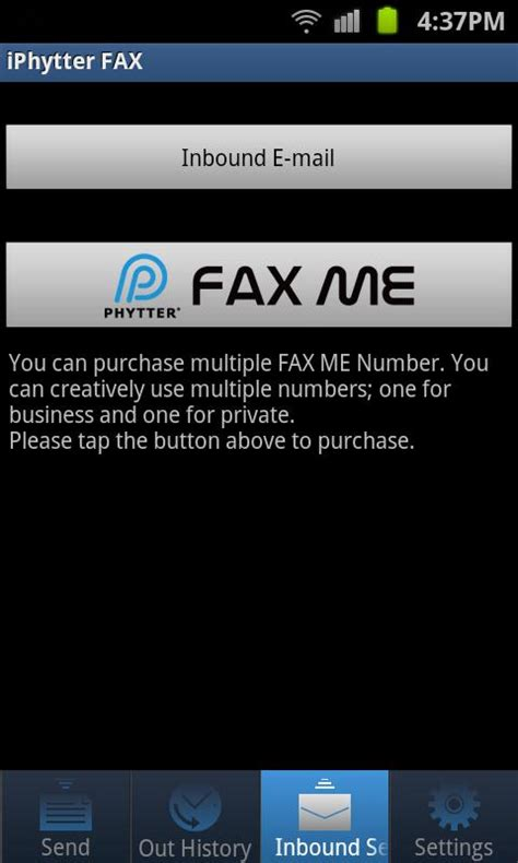 fax from android iphytter fax android edition android apps on play
