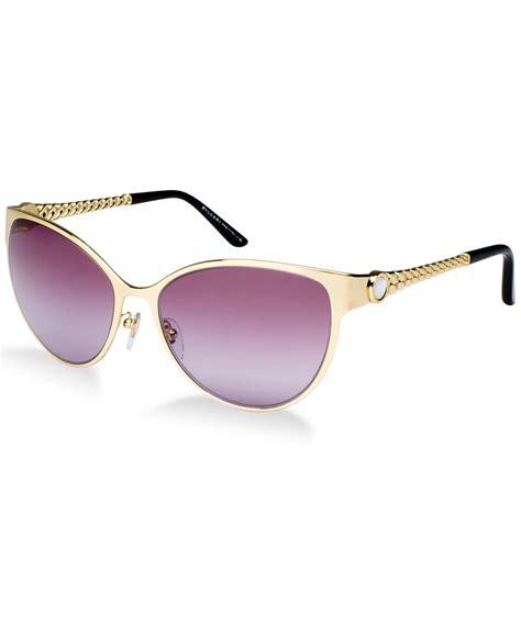 bvlgari sunglasses bv6070h in metallic lyst