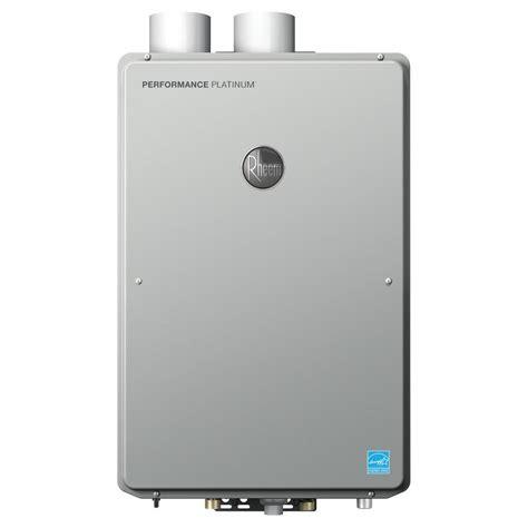 Rheem Performance Platinum 9.0 GPM Natural Gas High Efficiency Indoor Tankless Water Heater