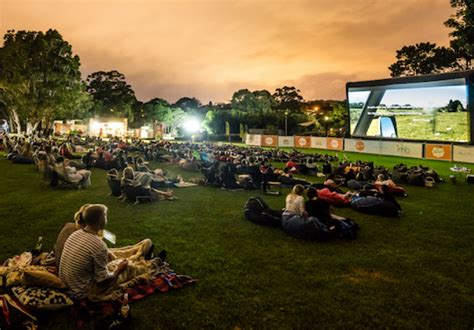 A New Outdoor Cinema Is Coming To The Mt Coot Tha Botanic Botanic Gardens Outdoor Cinema