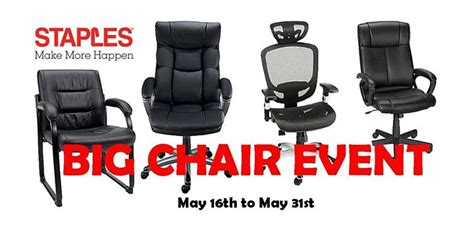 Staples Big Chair Event by Big Chair Event 2016 At Staples Quesnel Events Page Quesnel