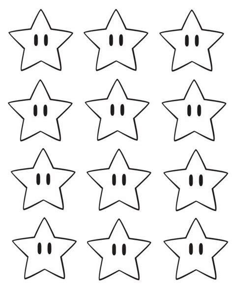 mario star coloring pages super mario bros printable star confetti hello splendid