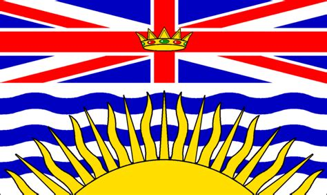 flags of the world vancouver bc british columbia 12 quot x18 quot flag british columbia flag 12