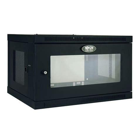 switch cabinet wall mount tripp lite smartrack 6 unit switch depth wall mount rack
