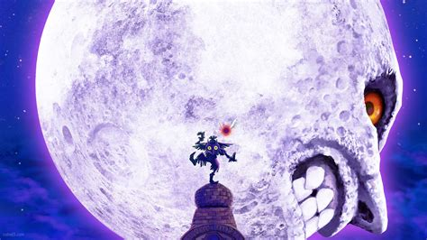 majorasmask zelda skull kid moon zelda ds desktop