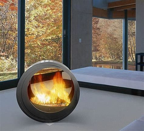 Mobile Fireplaces by Modern Indoor And Outdoor Design Fireplaces Mobile Home