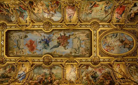 Belfast Wall Murals ceiling of the grand foyer at the op 233 ra garnier paris