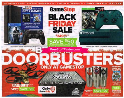 Can You Buy Stuff Online With A Gamestop Gift Card - hot gamestop black friday ad preview 11 24 11 27 free stuff finder