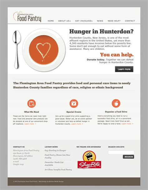 Flemington Area Food Pantry by Flemington Food Pantry Gattuso Media Design
