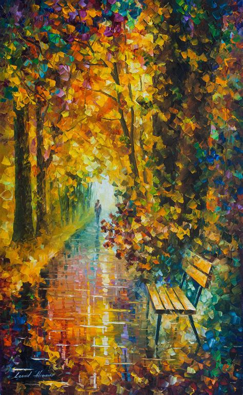 The Of Painting sleeping feeling palette knife painting on canvas by