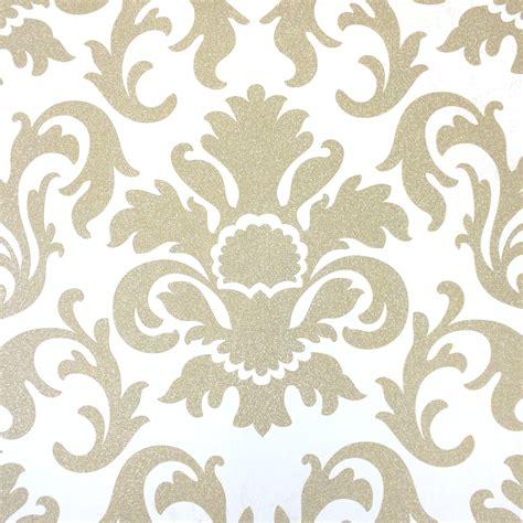cream gold damask wallpaper gallery