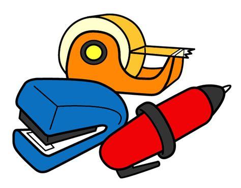 imagenes de utiles escolares coloreados dibujos de material escolar para colorear dibujos net