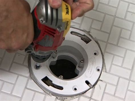 Closet Flange Installation by How To Install The Cove Base Tile And Toilet