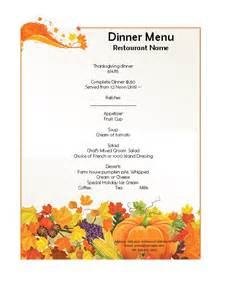 Dinner Menu Templates by Doc 450695 Free Dinner Menu Templates 25 Best Ideas