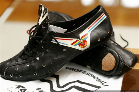 vintage bike shoes photo vittoria vintage leather cycling shoes mg 9005 by
