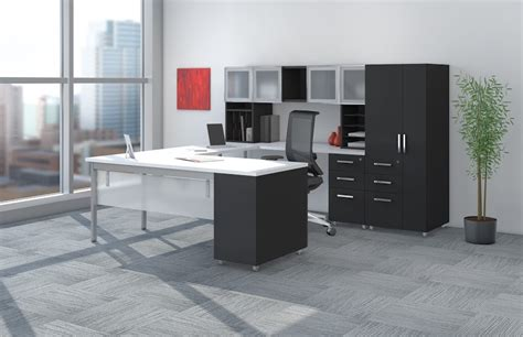 mayline e5 open plan benching desk system at boca raton