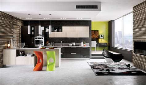contemporary decor suitable to apply modern kitchen designs combined with