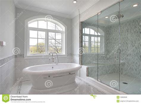 Large Bathroom Showers Master Bath With Large Shower Royalty Free Stock Image Image 12662626