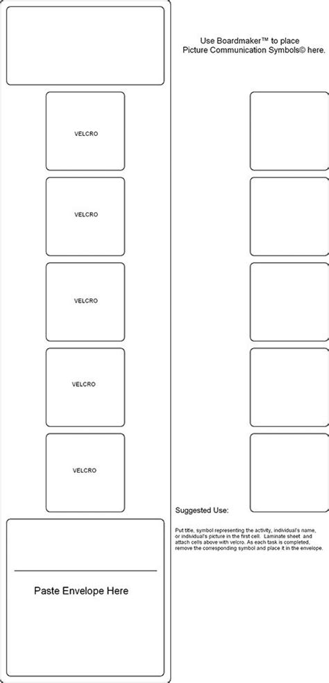 visual schedule template free 36 best pecs images on speech therapy speech
