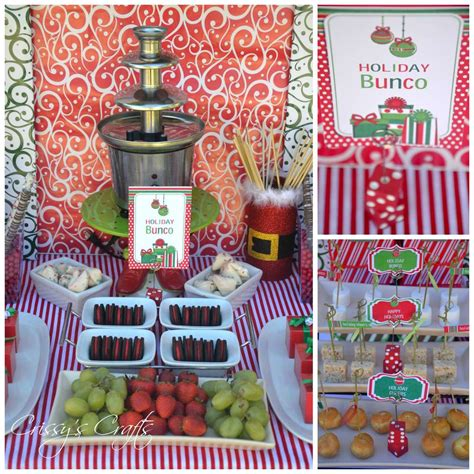 holiday bunco christmas holiday party ideas photo 1 of