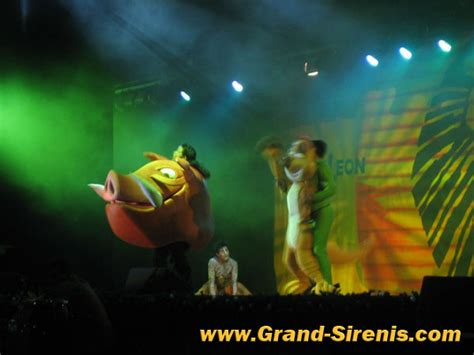 theme song lion king grand sirenis resort mayan rivera resort