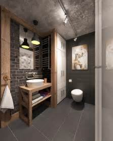 Industrial Style Bathroom Accessories How To Decorate A Stylish And Functional Industrial Bathroom Deavita