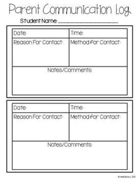Best 25 Parent Communication Log Ideas On Pinterest Parent Contact Sheet Communication Log Parent Communication Templates