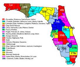 florida judicial circuits map florida court system