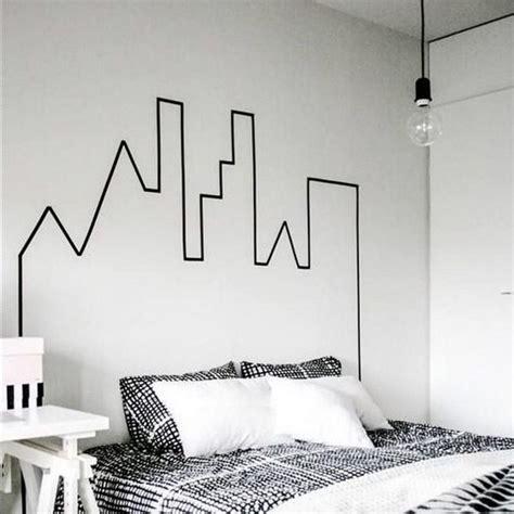 washi tape bedroom 17 best ideas about washi tape headboard on pinterest
