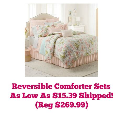 Comforters Kohls by Today Only Kohl S Cardholders Comforter Sets As Low As