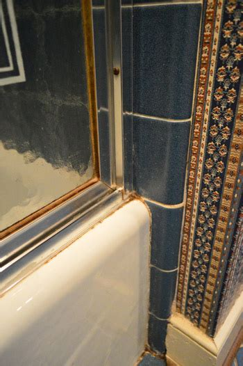 replacing bathroom caulk how to remove an old sliding shower door young house love