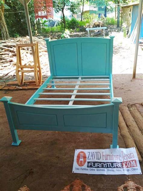 Dipan Kayu Mahoni tempat tidur dipan anak minimalis tosca kayu mahoni